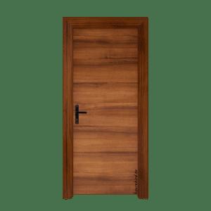 Πόρτα Laminate (1961) Καρυδιά με Οριζόντια Νερά