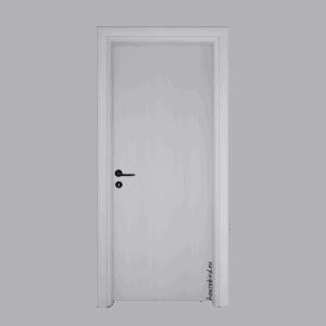 Πόρτα Laminate (2163) Spazzolato Λευκό