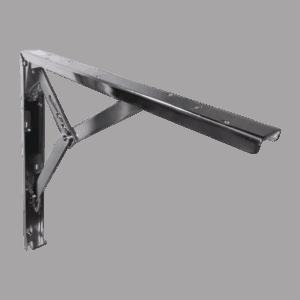 Γωνία Ραφιών Σπαστή 40x40cm Nikel (SET)