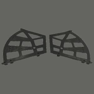 Παπουτσοθήκη πλαστική 3 θέσεων (Μαύρη)