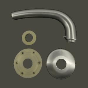 Χερούλι Θωρακισμένης Nickel-mat
