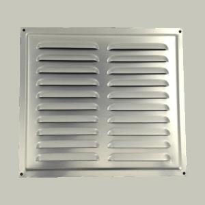 Αεραγωγός (20 x 23cm) αλουμινίου Λευκό