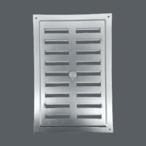 Αεραγωγός ρυθμιζόμενος (23 x 15cm) αλουμινίου