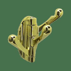 Κρεμάστρα περιστρεφόμενη Χρυσή (3 θέσεων)