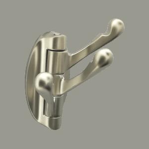 Κρεμάστρα περιστρεφόμενη Nickel mat (3 θέσεων)