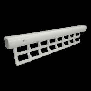 Γραβατιέρα (16 θέσεων) Λευκή