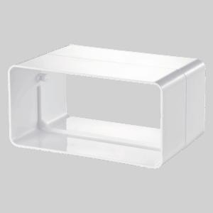 Σύνδεσμος σωλήνας πλαστ. 110x55mm