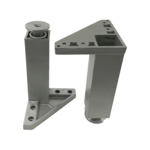 05-008 (Πόδι Γωνία Β001 Πλαστικό 110mm Γκρι)