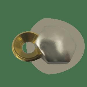Καπελάκι εξάγωνο Βίδες 3.0-3.5-4.0 (χρωμίου)