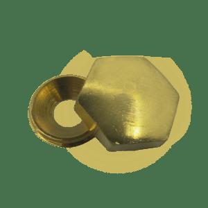 Καπελάκι εξάγωνο Βίδες 3.0-3.5-4.0 (χρυσό)