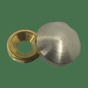 Καπελάκι στρόγγυλο Βίδες 3.0-3.5-4.0 (χρωμίου)