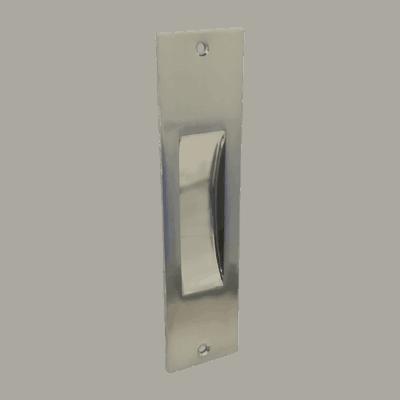 Χούφτα ορθογ. 555 χωρίς τρύπα (Nickel mat)