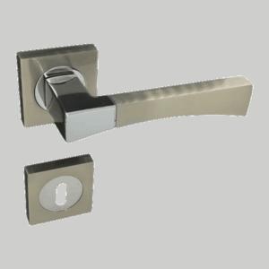 Πόμολο εσωτερικής Πόρτας R34 Set (Ροζέτα)