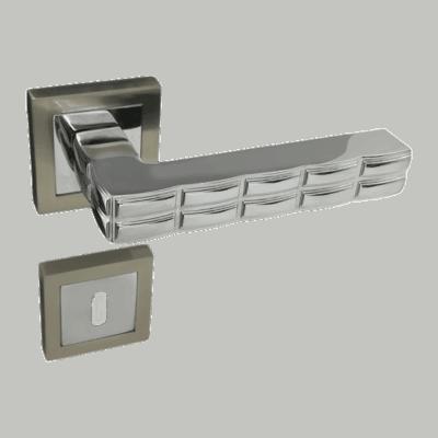 Πόμολο εσωτερικής Πόρτας Z34 Set (Ροζέτα)