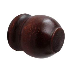 Τάπα ξύλινης κουρτινόβεργάς Φ35 (Κερασιά)