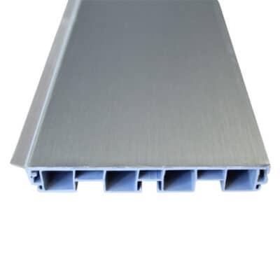Μπάζα Πλαστική (Inox) 10cm