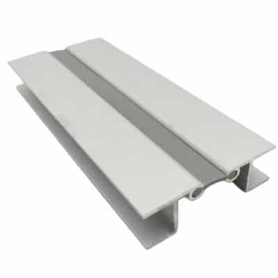 Γωνία αλουμινίου με λάστιχο για μπάζα 12cm