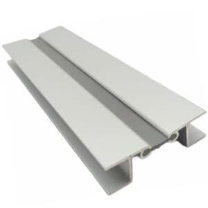 Γωνία αλουμινίου με λάστιχο για μπάζα 15cm